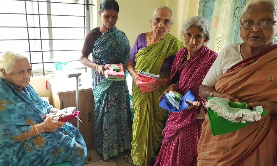 Visit to Old Age Home