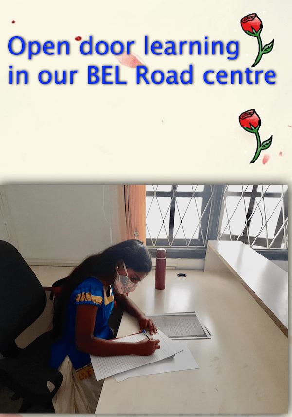 Open door at new BEL road